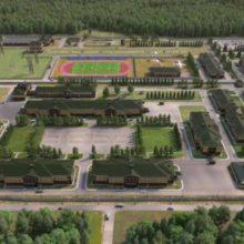 В Кубинке построили казармы по технологии «умный дом»