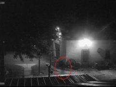 В Огайо фермер заснял бегущего призрака на камеру видеонаблюдения